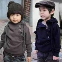 China Beautiful long sleeve cool childrens knitting patterns sweater with unique design on sale