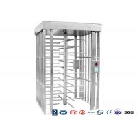Wholesale Deluxe Automatic Full height Turnstile  Pedestrian System Parking Facilities Rotating Gates from china suppliers