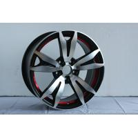 12 / 13 / 14 / 15 Inch Full Painted Polish Car Alloy Wheels 4 - 5 Holes Customized