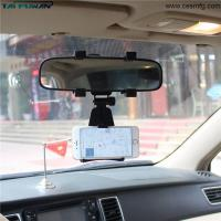 Wholesale Adjustable Car Auto Rearview Mirror Mount Cell Phone Holder Bracket Stands For Samsung Huawei Xiaomi iPhone X 7 phone from china suppliers