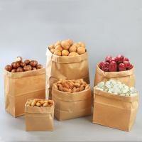 Quality Wholesale shopping customize printed kraft paper bag with handle for sale