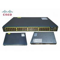 Buy cheap Cisco WS-C2960S-48TS-S 48port 10/100/1000M Switch Managed Network Switch C2960S from wholesalers