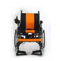 Elderly Power Electric Wheelchair Portable And Lightweight 100KG Loading Capacity
