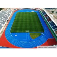 China Large Construction Project Rubber Running Track For Stadium Flooring In Suphan Buri , Thailand on sale