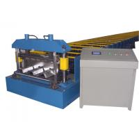 China Fully Automatic Galvanized Steel Roll Forming Machine For Roof Deck Working 8-12m/min on sale