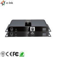 Wholesale 3G / HD-SDI CCTV Fiber Optic Converter Extender Metal Case With IR Remote Control from china suppliers