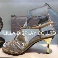 Wholesale Lilladisplay- Retail shoe store use fixture clear  transparent solid Acrylic display foot form AF-4 from china suppliers