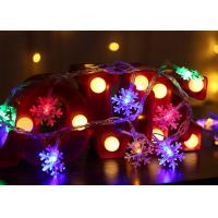 China Optional Length Decorative Indoor String Lights Battery Powered 14.8ft 3AA Battery 1.5V on sale