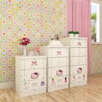 Wholesale E0 Grade Kids'/Children's Furniture, 3/4/5 Drawer Chest with Lovely KT Designs from china suppliers