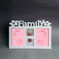 Wholesale Wooden Baby Hand And Footprint Frame from china suppliers