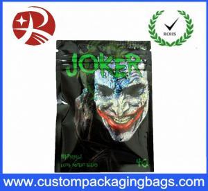China Reclosable Poly Bags Plastic Ziplock Bags Joker Herbal Potpourri 10g Online on sale