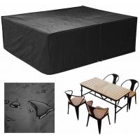 China Rectangular Furniture Cover Table and Chair Patio Cover Waterproof for Outdoor Garden Furniture Care (Large,98 L79 W31. on sale