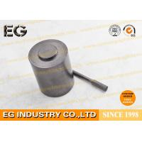 Extrusion Polishing Carbon Stirring Rod , Self Lubricating Graphite Round Bar