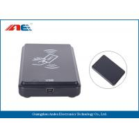 China Micro Power USB RFID Scanner RFID Card Reader Writer SDK And Demo Software Provided on sale