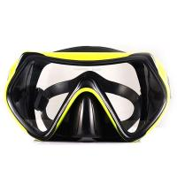 Buy cheap Adult Food Grade Silicone Snorkel Mask , Anti Fog Scuba Mask One Piece Lens from wholesalers