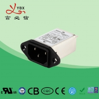 Wholesale 16A High Efficiency Plug In RFI Filter Inlet Power Line Noise For Household Equipment from china suppliers
