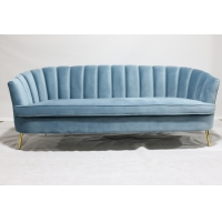 Buy cheap Upholstered 215x80x88cm Living Room Furniture Sofa For Home from wholesalers