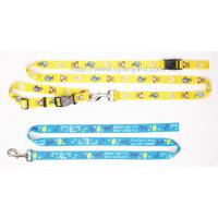 Wholesale Designer full color lanyard dog collar and lead set, customized dog collars and leads, from china suppliers