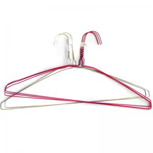 China Long Lasting Supermarket Powder Coated Strong Stainless Steel Wire Hanger on sale