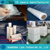 Wholesale 25 mic Transparent cling Film PE film wrap from china suppliers