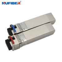 Wholesale SM Bidi LC 10ge SFP+ Transceiver Module 20km No Reference Clock Required from china suppliers