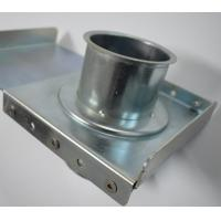 Wholesale Round Head  Duct Zone Dampers Stainless Steel Blast Gate Stamping Welding Connection from china suppliers