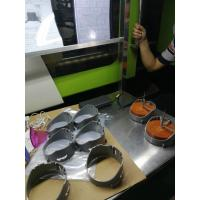 Wholesale Vending Machine Plastic Injection Parts Singel / Multi Cavity Green Cog Wheel POM Material from china suppliers