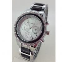 China Analogue Watch SR626SW Battery Quartz Watches With Bling Bezel on sale