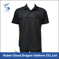 Buy cheap Summer Cool Black Security Guard T Shirts For Factory Office Worker from Wholesalers