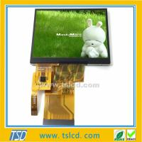 Low price TST350MTQV-01 3.5'' inch 240x320 TFT lcd module with touch panel