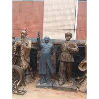 different theme famous people statue in props and oddities gate exhibition park