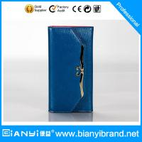 Wholesale wholesale fashion brand folding genuine women leather wallet for lady from china suppliers