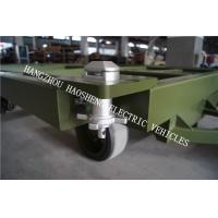 Buy cheap Conductive Strip Utility Flatbed Trailer , Iron Eagle Trailers With 25000m Wheel Base from Wholesalers