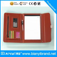 Wholesale PU Leather portfolio with locker from china suppliers