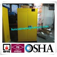 Flammable Filtered Safety Cabinets with ductless filtration and ventilation system
