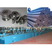 Buy cheap Steel Pipe Making Machine Tube Mill Rolls With 0.01 - 0.03 Mm Tolerance from Wholesalers