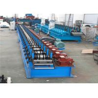 China Easy Installation Shutter Roll Forming Machine 10m/min Rolling 1.5ton Decoiler on sale