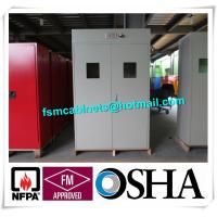 Wholesale Full Steel Flammable Gas Cylinder Drum Storage Cabinets , Lab Drum Gas Cyliner Storage Cabinets from china suppliers