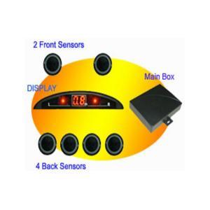 China Mini Led Display Parking Sensor With Digital Tube Screen Car Electronics Products on sale