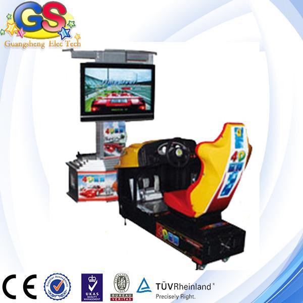 racing car arcade machine