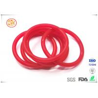 Wholesale Red Acid Resistance Ageing Resistance EPDM Customized O Ring Shape For Chemical from china suppliers