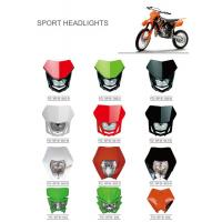 Wholesale Various Colors Led Motorcycle Driving Lights , Led Motorcycle Headlight New ABS Material from china suppliers