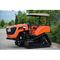 Buy cheap Flexible Turning 90 hp Agricultural Crawler Tractor with High Working Efficiency from wholesalers