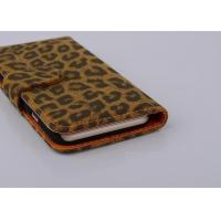 Wholesale Ultra Slim Leopard Cell Phone Wallet Cases For Iphone 6( 4.7 ) 6 Plus 5s from china suppliers