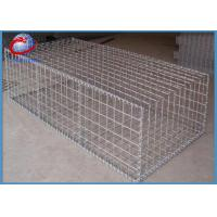 Buy cheap Round Gabion Baskets Rock Filled Gabion Cages For Roadway / Bridge Protection from wholesalers