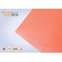 Wholesale High Temperature 550 C Degree Resistant Silicone Coated Fiberglass Fabric For Welding Curtain Welding Blanket from china suppliers