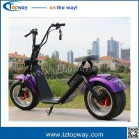High Quality Two Wheel 1500w Citycoco Scooter, 60V 12ah/20ah Battery Electric  harley