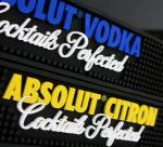 Eco-Friendly Soft PVC Bar Mat , Muti-colored custom beer bar mat