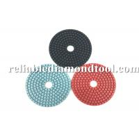 China Diamond Grit Polishing Pads ISO TUV 4 Inch Buffing Pads Working With Water on sale