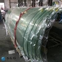 Wholesale China curve tempered glass factory hot bent glass price 4-19mm from china suppliers